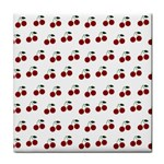 Cherries Face Towel Front