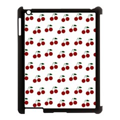 Cherries Apple Ipad 3/4 Case (black) by snowwhitegirl