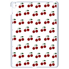 Cherries Apple Ipad Pro 9 7   White Seamless Case by snowwhitegirl