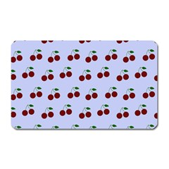 Blue Cherries Magnet (rectangular)