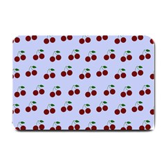 Blue Cherries Small Doormat