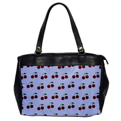 Blue Cherries Office Handbags