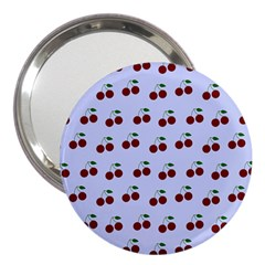 Blue Cherries 3  Handbag Mirrors