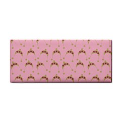 Pink Beige Hats Cosmetic Storage Cases
