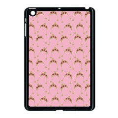 Pink Beige Hats Apple Ipad Mini Case (black) by snowwhitegirl