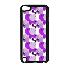 Purple Cherry Dots Apple Ipod Touch 5 Case (black) by snowwhitegirl
