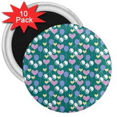 Ocean Cherry 3  Magnets (10 Pack)  by snowwhitegirl