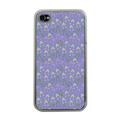 Winter Hats Blue Apple Iphone 4 Case (clear)
