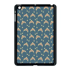 Teal Beige Hats Apple Ipad Mini Case (black) by snowwhitegirl