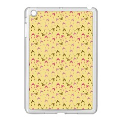 Hats Pink Beige Apple Ipad Mini Case (white) by snowwhitegirl