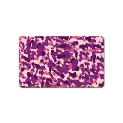 Pink Camo Magnet (name Card)