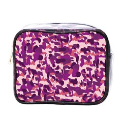 Pink Camo Mini Toiletries Bags by snowwhitegirl