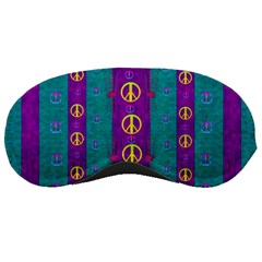 Peace Be With Us This Wonderful Year In True Love Sleeping Masks