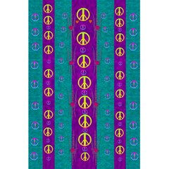 Peace Be With Us This Wonderful Year In True Love 5 5  X 8 5  Notebooks by pepitasart