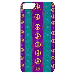 Peace Be With Us This Wonderful Year In True Love Apple Iphone 5 Classic Hardshell Case