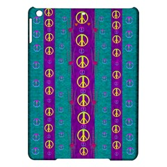 Peace Be With Us This Wonderful Year In True Love Ipad Air Hardshell Cases by pepitasart