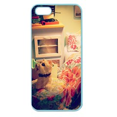 Cream Dollhouse Apple Seamless Iphone 5 Case (color)