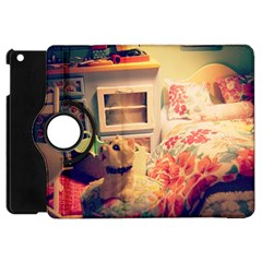 Cream Dollhouse Apple Ipad Mini Flip 360 Case