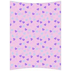 Blue Pink Hearts Back Support Cushion by snowwhitegirl