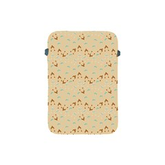 Winter Hats Beige Apple Ipad Mini Protective Soft Cases by snowwhitegirl