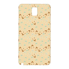 Winter Hats Beige Samsung Galaxy Note 3 N9005 Hardshell Back Case by snowwhitegirl