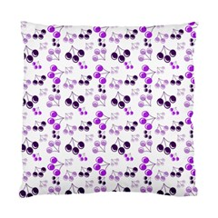 Purple Cherries Standard Cushion Case (two Sides) by snowwhitegirl