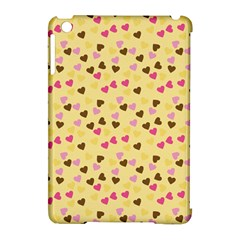 Beige Hearts Apple Ipad Mini Hardshell Case (compatible With Smart Cover) by snowwhitegirl