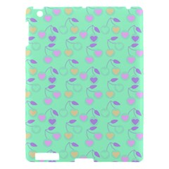 Mint Heart Cherries Apple Ipad 3/4 Hardshell Case by snowwhitegirl