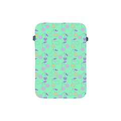 Mint Heart Cherries Apple Ipad Mini Protective Soft Cases by snowwhitegirl