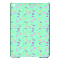 Mint Heart Cherries Ipad Air Hardshell Cases