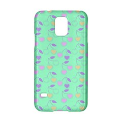 Mint Heart Cherries Samsung Galaxy S5 Hardshell Case  by snowwhitegirl