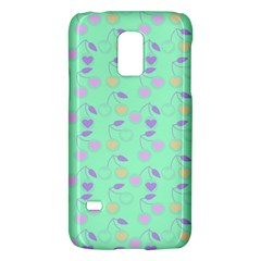 Mint Heart Cherries Galaxy S5 Mini by snowwhitegirl