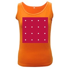Red Dot Women s Dark Tank Top