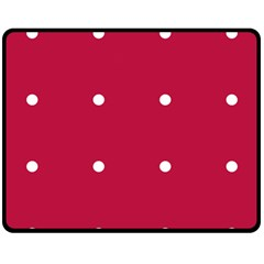 Red Dot Fleece Blanket (medium)