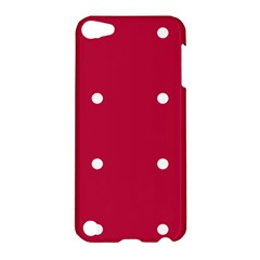 Red Dot Apple Ipod Touch 5 Hardshell Case by snowwhitegirl