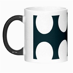 Big Dot Teal Blue Morph Mugs