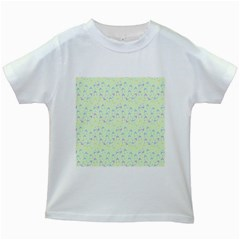 Minty Hats Kids White T-shirts