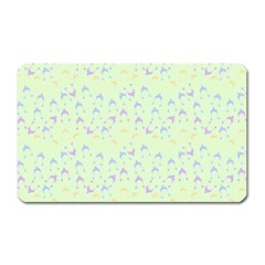 Minty Hats Magnet (rectangular)