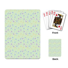 Minty Hats Playing Card