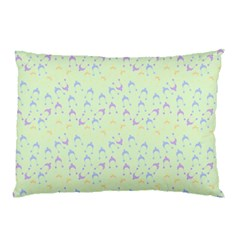 Minty Hats Pillow Case