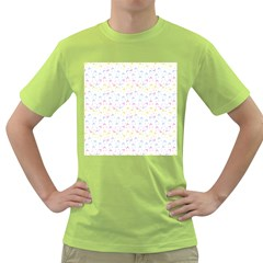 Pastel Hats Green T-shirt