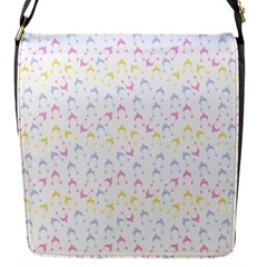 Pastel Hats Flap Messenger Bag (s) by snowwhitegirl