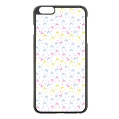 Pastel Hats Apple Iphone 6 Plus/6s Plus Black Enamel Case