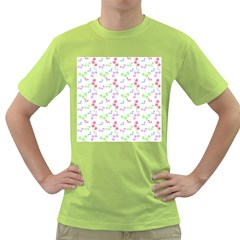 Candy Cherries Green T-shirt