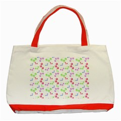 Candy Cherries Classic Tote Bag (red) by snowwhitegirl