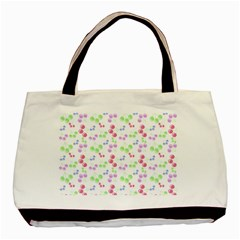 Candy Cherries Basic Tote Bag (two Sides) by snowwhitegirl