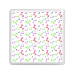 Candy Cherries Memory Card Reader (square)  by snowwhitegirl