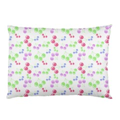 Candy Cherries Pillow Case (two Sides) by snowwhitegirl
