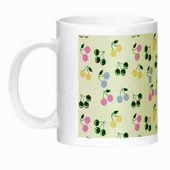 Green Cherries Night Luminous Mugs