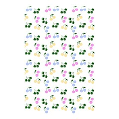 Green Cherries Shower Curtain 48  X 72  (small)  by snowwhitegirl